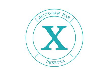 Desetka restoran bar logo